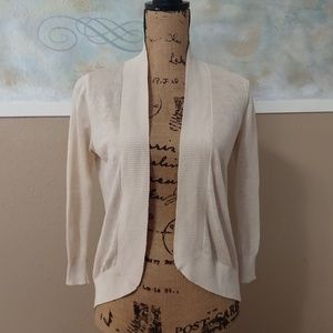 Tommy Bahama cream XS cardigan